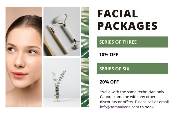 facial packages at soma salon
