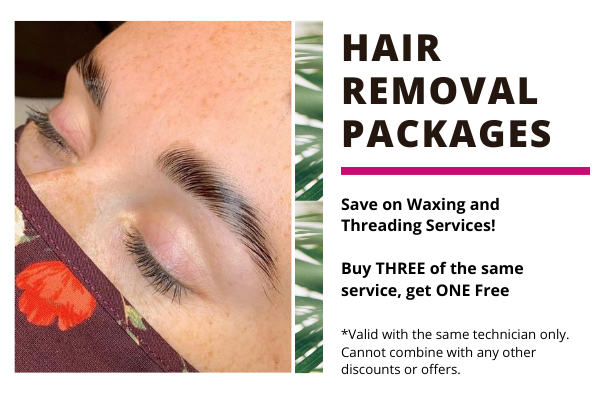 hair removal waxing packages at soma salon